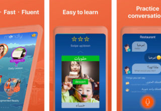 Language Learning for Kids in Augmented Reality